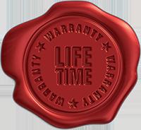 Lifetime warranty roof