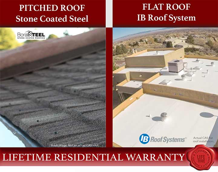 Lifetime Flat and Pitched Roof Installation