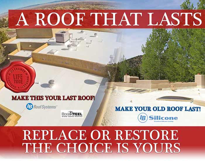 Replace or Restore Your Roof