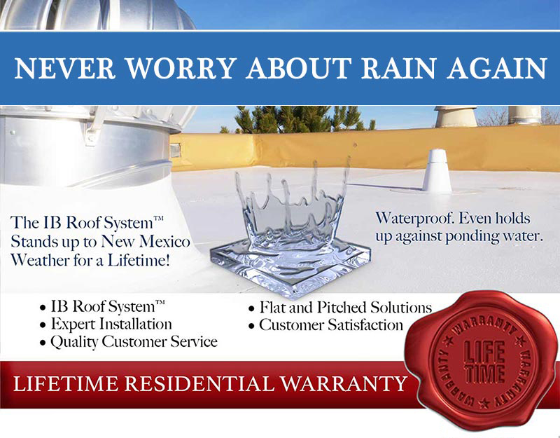 Never worry about rain