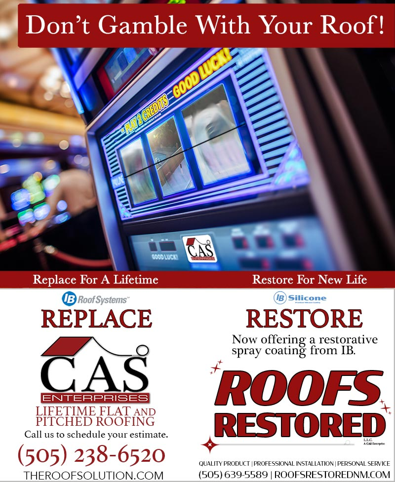 Don't gamble with your roof